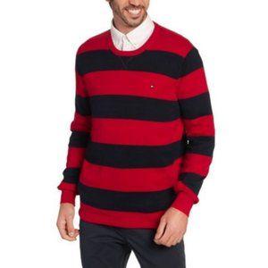 NWT Tommy Hilfiger Men's Crew Neck Cotton Sweater